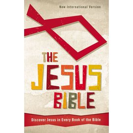 NIV The Jesus Bible, Hardcover