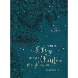 2021 Planner - I Can Do All Things, Teal