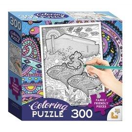 Coloring Puzzle: Noah's Ark