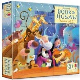 Book & Jigsaw Puzzle: Noah's Ark, 30 Pieces