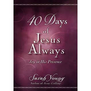 40 Days of Jesus Always (Sarah Young), Booklet