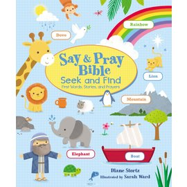 Say & Pray Bible Seek & Find (Diane Stortz), Board Book