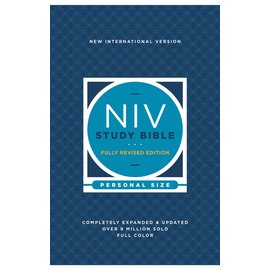 NIV Personal Size Study Bible: Fully Revised Edition, Paperback