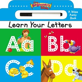 The Beginner's Bible: Learn Your Letters, Board Book