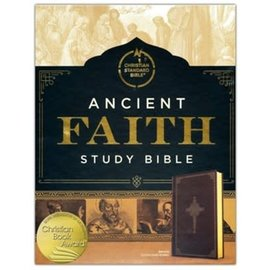 CSB Ancient Faith Study Bible, Hardcover