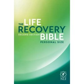 NLT Personal Size Life Recovery Bible, Paperback