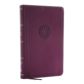 NKJV Thinline Bible: Youth Edition, Purple Leathersoft