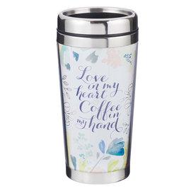 Travel Mug - Love in my Heart