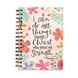 Journal - I Can Do All Things, Flowers