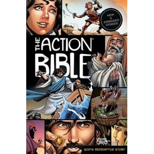 The Action Bible: New & Expanded Stories, Hardcover