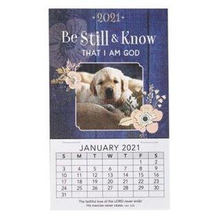 2021 Mini Magnetic Calendar: Be Still