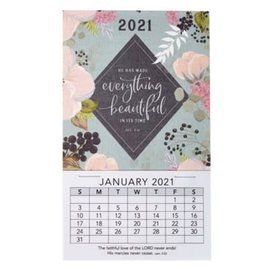 2021 Mini Magnetic Calendar: Everything Beautiful