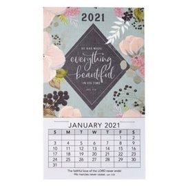 2021 Mini Magnetic Calendar: Everything Beautiful