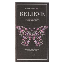 2021 Daily Pocket Planner: Believe
