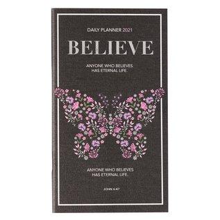 2021 Daily Pocket Planner: Believe