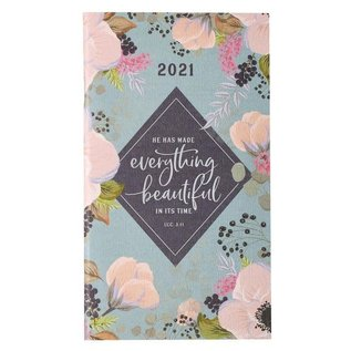 2021 Daily Pocket Planner: Everything Beautiful