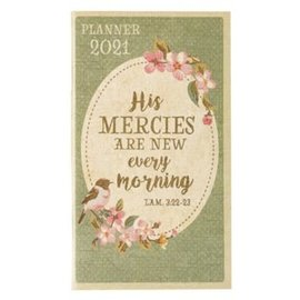 2021 Daily Pocket Planner: His Mercies