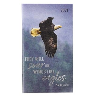 2021 Daily Pocket Planner: Wings Like Eagles
