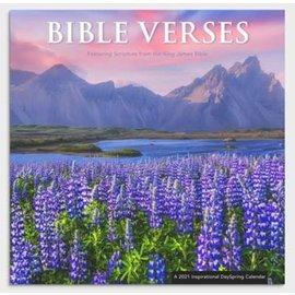 2021 Wall Calendar -  Bible Verses: Flowers