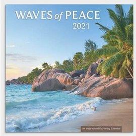 2021 Wall Calendar -  Waves of Peace