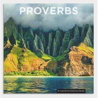 2021 Wall Calendar -  Proverbs