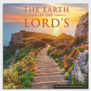 2021 Wall Calendar -  The Earth is the Lord's