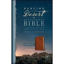 NLT Dancing in the Desert Devotional Bible, Sienna LeatherLike
