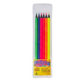Bible Highlighter Pencil Set, 6 Pack