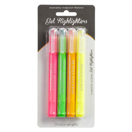 Highlighter - Twist and Glide, 4 Piece