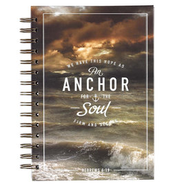 Journal - Anchor for the Soul, Wirebound
