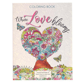 Coloring Book - Where Love Blooms
