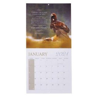 2021 Wall Calendar: Wings of Eagles