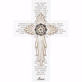 Wall Cross - Serenity Prayer