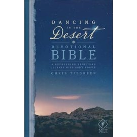 NLT Dancing in the Desert Devotional Bible, Hardcover