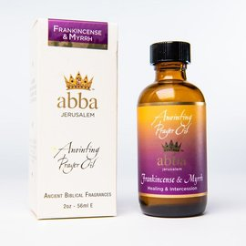 Anointing Oil - Frankincense & Myrrh, 2 oz (Abba)