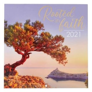 2021 Wall Calendar: Rooted in Faith