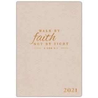 2021 Planner: Walk By Faith
