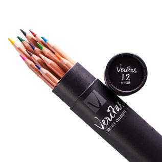 Colored Pencils - Veritas Tube, 12 Count