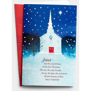 Christmas Boxed Cards: Jesus was the Central Theme