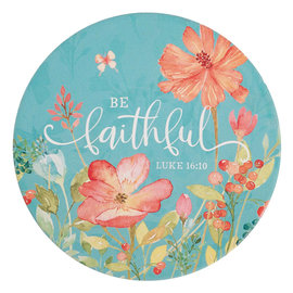 Trivet - Be Faithful, Ceramic