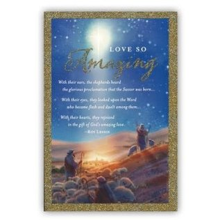 Christmas Boxed Cards: Messiah, Love So Amazing