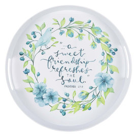 Serving Tray - A Sweet Friendship