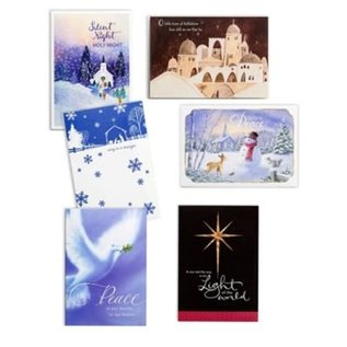Christmas Boxed Cards: Religious Scenes (Value)