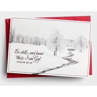 Christmas Boxed Cards: Be Still & Know