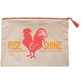 Zipper Bag - Rise Shine