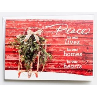 Christmas Boxed Cards: Peace in Our Hearts