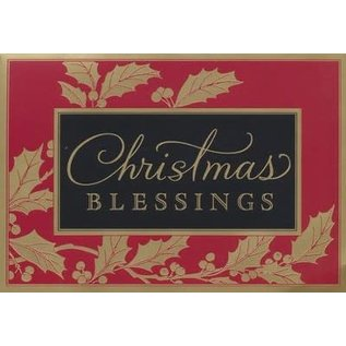 Christmas Boxed Cards: Christmas Blessings