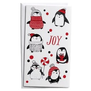 Christmas Boxed Cards: Joy, Penguins (Little Inspirations)