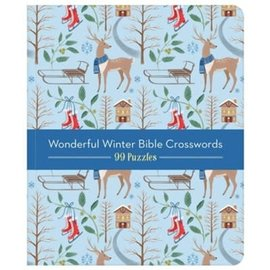 Wonderful Winterful Bible Crosswords: 99 Puzzles!