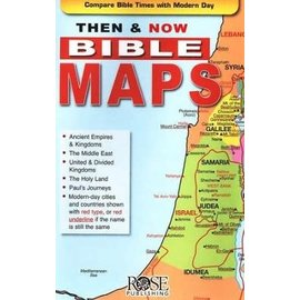Then & Now Bible Maps Pamphlet